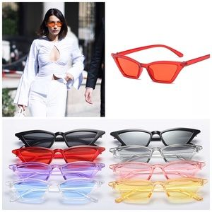 Accessories - ✨New! Le Slim Chic Cat Eye Sunnies (Red)